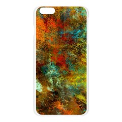 Mixed Abstract Apple Seamless iPhone 6 Plus/6S Plus Case (Transparent)