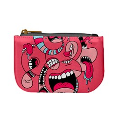 Big Mouth Worm Mini Coin Purses