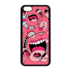 Big Mouth Worm Apple Iphone 5c Seamless Case (black)