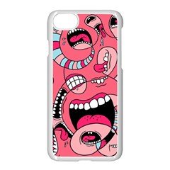 Big Mouth Worm Apple Iphone 7 Seamless Case (white)