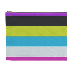 Bigender Flag Copy Cosmetic Bag (xl)