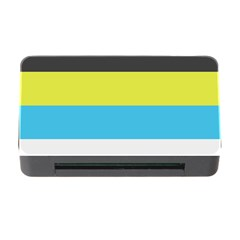 Bigender Flag Copy Memory Card Reader With Cf