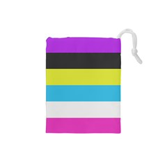 Bigender Flag Copy Drawstring Pouches (small)