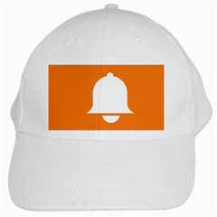 Bell Orange Copy White Cap