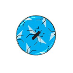 Mosquito Blue Black Hat Clip Ball Marker (10 Pack)