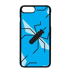 Mosquito Blue Black Apple Iphone 7 Plus Seamless Case (black)