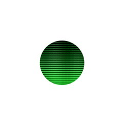 Neon Green And Black Halftone Copy 1  Mini Buttons