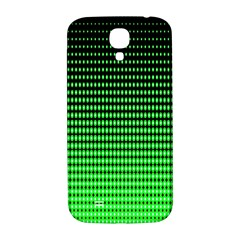 Neon Green And Black Halftone Copy Samsung Galaxy S4 I9500/i9505  Hardshell Back Case
