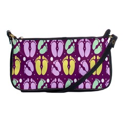 Soles Of The Feet Shoulder Clutch Bags