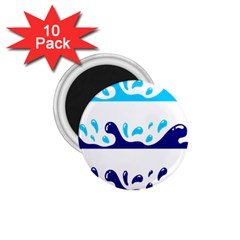 Water 1 75  Magnets (10 Pack)