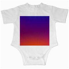 Purple Orange Blue Infant Creepers