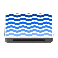 Water White Blue Line Memory Card Reader With Cf