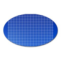 Background Diamonds Computer Paper Oval Magnet