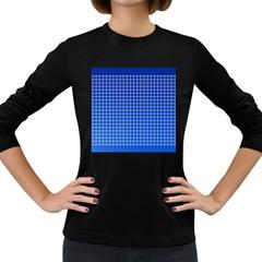 Background Diamonds Computer Paper Women s Long Sleeve Dark T Shirts