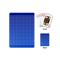 Background Diamonds Computer Paper Playing Cards (mini)