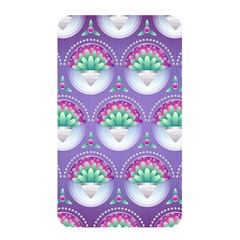 Background Floral Pattern Purple Memory Card Reader