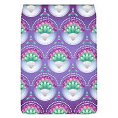 Background Floral Pattern Purple Flap Covers (l)