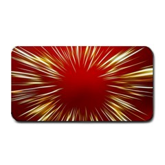 Color Gold Yellow Background Medium Bar Mats