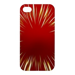 Color Gold Yellow Background Apple Iphone 4/4s Hardshell Case