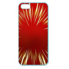 Color Gold Yellow Background Apple Seamless Iphone 5 Case (color)