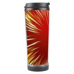 Color Gold Yellow Background Travel Tumbler