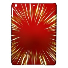 Color Gold Yellow Background Ipad Air Hardshell Cases