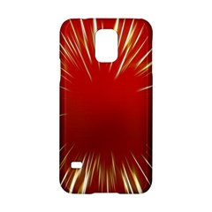 Color Gold Yellow Background Samsung Galaxy S5 Hardshell Case