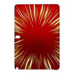 Color Gold Yellow Background Samsung Galaxy Tab Pro 10 1 Hardshell Case