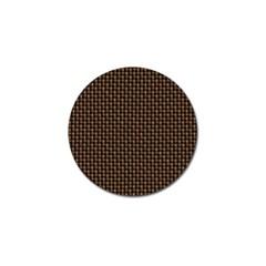 Fabric Pattern Texture Background Golf Ball Marker (10 Pack)
