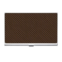 Fabric Pattern Texture Background Business Card Holders