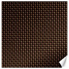 Fabric Pattern Texture Background Canvas 16  X 16
