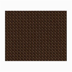 Fabric Pattern Texture Background Small Glasses Cloth (2 Side)