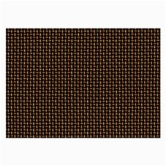 Fabric Pattern Texture Background Large Glasses Cloth (2-Side)