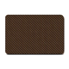 Fabric Pattern Texture Background Small Doormat