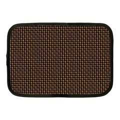 Fabric Pattern Texture Background Netbook Case (medium)