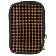 Fabric Pattern Texture Background Compact Camera Cases