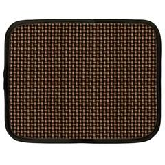 Fabric Pattern Texture Background Netbook Case (xl)