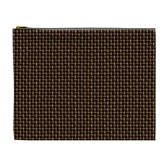 Fabric Pattern Texture Background Cosmetic Bag (xl)