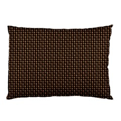 Fabric Pattern Texture Background Pillow Case (two Sides)