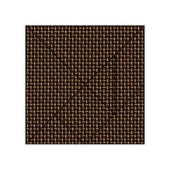 Fabric Pattern Texture Background Acrylic Tangram Puzzle (4  X 4 )