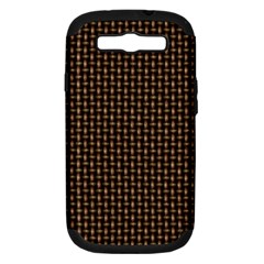 Fabric Pattern Texture Background Samsung Galaxy S Iii Hardshell Case (pc+silicone)