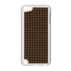 Fabric Pattern Texture Background Apple Ipod Touch 5 Case (white)