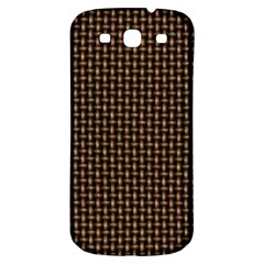 Fabric Pattern Texture Background Samsung Galaxy S3 S Iii Classic Hardshell Back Case