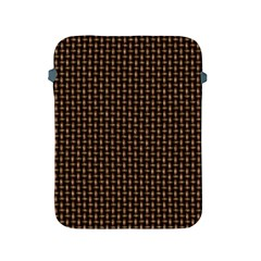Fabric Pattern Texture Background Apple Ipad 2/3/4 Protective Soft Cases