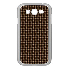 Fabric Pattern Texture Background Samsung Galaxy Grand Duos I9082 Case (white)