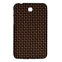 Fabric Pattern Texture Background Samsung Galaxy Tab 3 (7 ) P3200 Hardshell Case