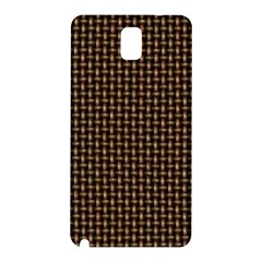 Fabric Pattern Texture Background Samsung Galaxy Note 3 N9005 Hardshell Back Case