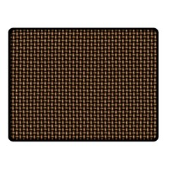 Fabric Pattern Texture Background Double Sided Fleece Blanket (small)