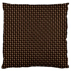 Fabric Pattern Texture Background Large Flano Cushion Case (two Sides)