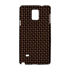 Fabric Pattern Texture Background Samsung Galaxy Note 4 Hardshell Case